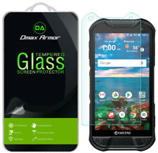[2-Pack] Dmax Armor Tempered Glass Screen Protector for Kyocera DuraForce Pro 2