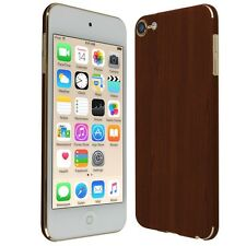 Skinomi Dark Wood Skin+Clear Screen Protector For Apple iPod Touch 6 (6th Gen)