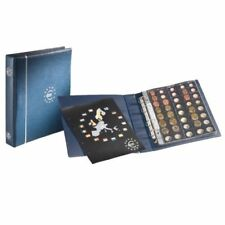 Euro Coins Album OPTIMA Blue Album for Euro Coins Collections Leuchtturm 336883