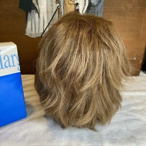 Henry Margu Golden Brown Layered With Bangs Short-Mid Length Wig With Box
