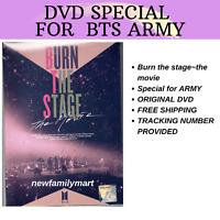 BTS (Burn The Stage - The Movie 2018) ~~ DVD ~~ English Subtitle ~~ All Region