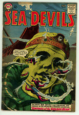 JERRY WEIST ESTATE: SEA DEVILS #16 (DC 1964) VG condition NO RES