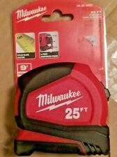 Milwaukee 25 ft Tape Measure 48-22-6625