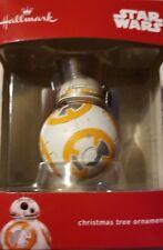 Hallmark Star Wars BB-8 Sphero Droid Christmas Ornament New 2017 different upc #