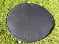 38cm Round Bistro Garden Furniture Chair Cushion Seat Pad