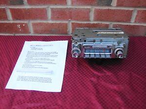 65 PONTIAC GTO LEMANS TEMPEST DELCO 7292112 AM-FM RADIO SERVICED
