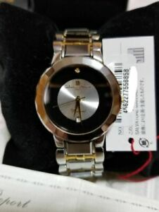 Salvatore Marra Diamond 18K Pure Gold Hi-End Italy Rare Watch Shipped from Japan