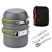 Vanpower Outdoor Camping Kochgeschirr Topf Set Portable 1-2 Personen Pickni