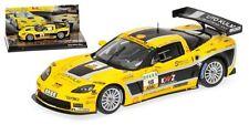 Selten MINICHAMPS 1/43 Tala Corvette Z06R GT 3 ADAC GT Masters 2011 LIM.500 PCs
