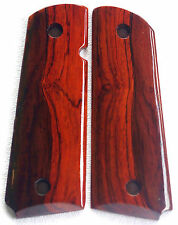 1911 FULL SIZE GRIPS 4 COLT, KIMBER, S&W Charles Daly COCOBOLO F-87 NICE!!!