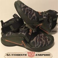Nike Air Lebron Soldier 9 IX Camo Promo Sz 9.5 concept x Max Iv Kaws Supreme Sb