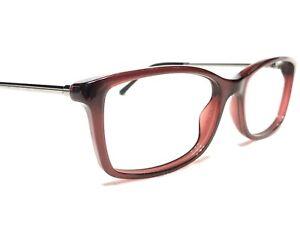 Burberry B2120 3014 Women's Red & Gunmetal Rx Designer Eyeglasses Frames 51/16
