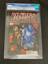 AVENGERS ACADEMY #18, (2011) CGC 9.8, Marvel Comics, White Pages