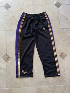 VTG Nike Los Angeles Lakers NBA Rewind Black Sweatpants Size XL BNWT