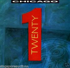 1991 CHICAGO - TWENTY 1 CD ALBUM ***OUT OF PRINT!***