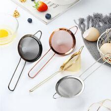 Baking Cooking Tool Kitchen Home Oil Skimmer Colander Cocktail Filter Strainer