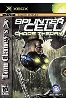Tom Clancy's Splinter Cell: Chaos Theory Original Xbox game disc only 44z