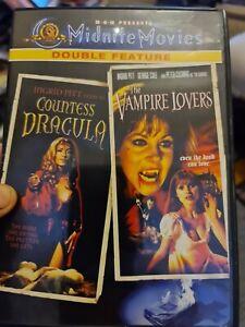 Countess dracula & The Vampire Lovers (midnite movies. Region 1)