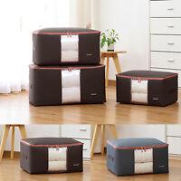 Large Storage Bag Box Jumbo Clothes Bedding Duvet Laundry Pillows Double Zipper