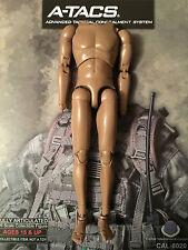 "Caltek internacional Militar A-tacs 12 ""cuerpo desnudo Suelto 1/6th Scale"