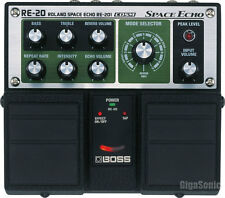 Boss RE-20 Space Echo Delay Guitar Effects Pedal RE20 New
