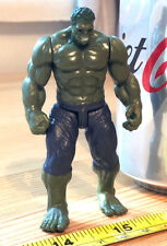 Incredible Hulk Action Figure Marvel Great Condition Official Dark Green