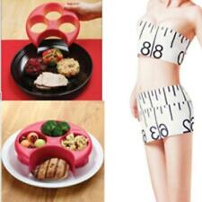 Food Control Meal Measure Plate Weight Loss Diet Portion Healthy Eating Slim HO3