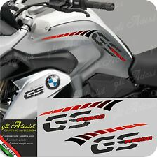 Kit Adesivi Fianco Serbatoio Moto BMW R 1200 gs LC stripes racing RED