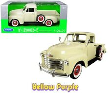 Welly 1:24 - 1:27 1953 Chevrolet 3100 Pick Up Truck Diecast Model Cream 22087
