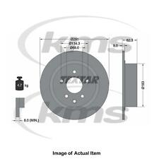 New Genuine TEXTAR Brake Disc 92237103 Top German Quality