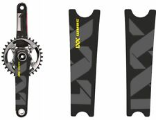 Crank Set Stickers Decals MTB SRAM XX1 Mountain Bike Bicycle Adhesive 2Pc Yellow