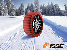 ISSE Classic Snow Textile Tire Chains Socks Traction for Cars SUVs Truck Size 70