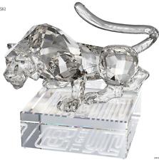 NIB $325 Swarovski Crystal Chinese Zodiac Tiger Silver Shade #1002980