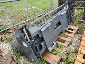 """Used 68"""" inch 4-in-1 Skid-Steer Combination Bucket Attachment CID"""