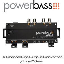 Powerbass ASA3 600.1-1 canales clase A//B amplificador Monoblock bajo 600W Nuevo Y En Caja