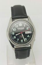 De colección CITIZEN Día/Fecha Reloj Automático, hecha en Japón, usado. (w-143)