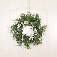 """Front Tür Kranz, 18 """"Künstliche Blumen Kranz Eukalyptus Kranz für Front"""