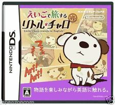 Used DS Little Charo travels in English NINTENDO JAPANESE IMPORT