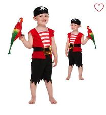 Fancy Dress Costume Book Week Toddler Pirate Boys Outfit
