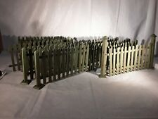 Antique Green Christmas Tree Fence