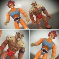 Vintage Thundercats Lion-O Monkian Action Figures Telepix LJN Toys 80s