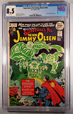 Jimmy Olsen #143 - White Pages CGC 8.5 VF+