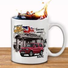 Personalised  SUZUKI JIMNY   Car Mug Cup Dad Custom Gift - Add Name