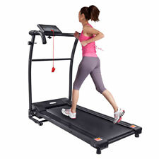 Electric Treadmill Exercise Equipment Folding Running Machine Motor Fitness