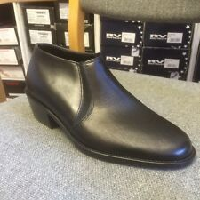 Mens leather ankle boot size 6 ww cuban heel made in UK other sizes available