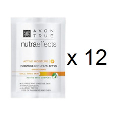 12 x Avon Nutraeffects / Nutra Effects RADIANCE Day Cream SPF15 Samples