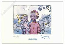 Ex-libris Cosey Spirou 199ex signé 14,8x21