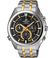 Casio Men's Edifice EFR-537SG-1AV  Two-Tone Stainless Steel Watch
