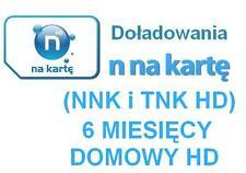 TNK NNK Domowy Premium Extra HD Doladowanie Express Telewizja N na karte Polska