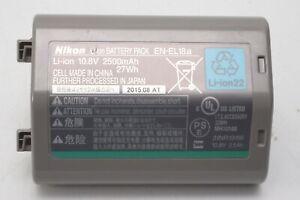Genuine Nikon EN-EL18a / EN-EL18 Li-ion Battery Pack - D6 D5 D4S D4 D500 D850